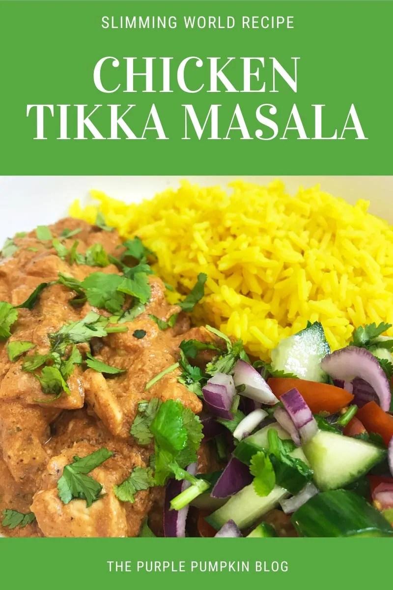 Slimming World Recipe - Chicken Tikka Masala