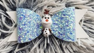 Frozen Olaf Hair Bow