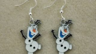 Frozen Olaf Earrings