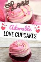 Adorable Love Cupcakes