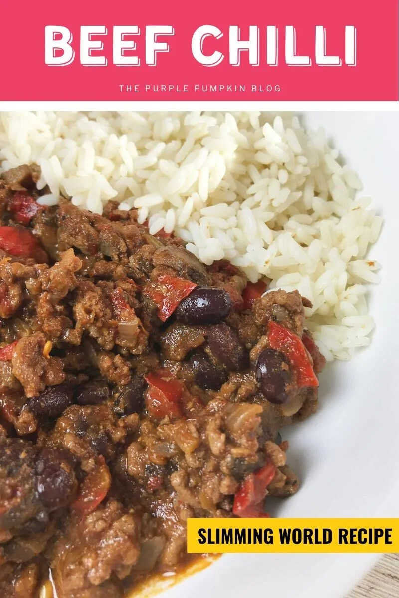 Beef Chilli - Slimming World Recipe