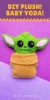 DIY Plush Baby Yoda!