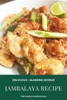 Delicious Delicious Jambalaya Slimming World Friendly Recipe