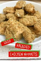 Easy Breaded Chicken Nuggets