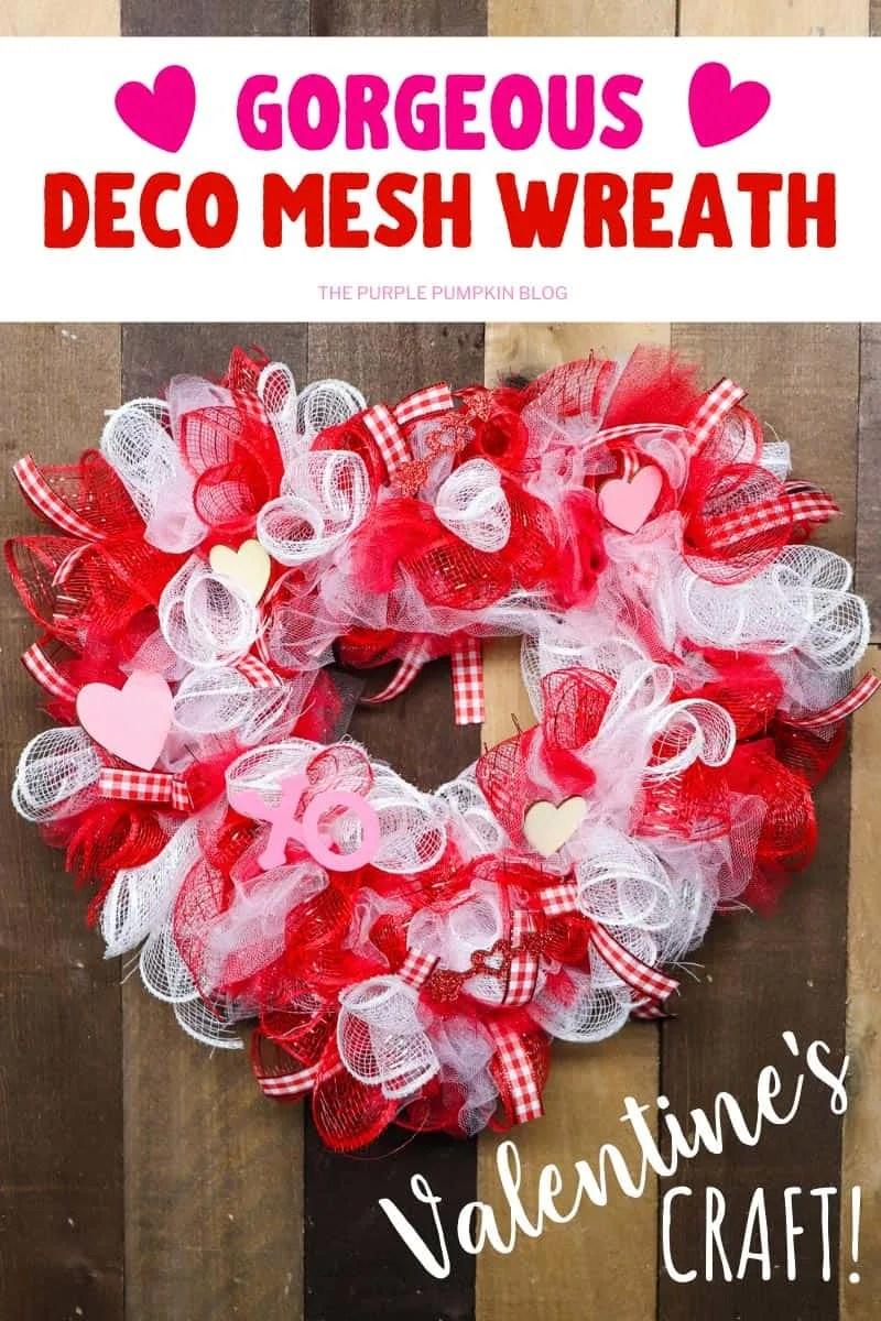 Gorgeous Deco Mesh Wreath
