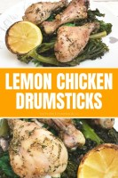 Lemon Chicken Drumsticks