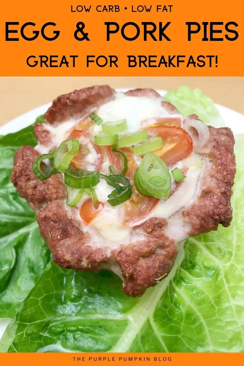 Low-Carb Low-Fat Egg & Pork Pies - Great For Breakfast!