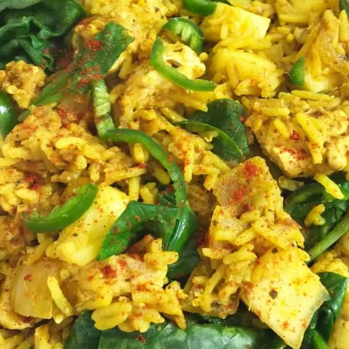 Slimming World Chicken Tikka & Mango Biryani