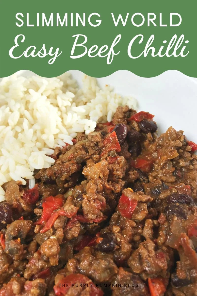Slimming World Easy Beef Chilli Con Carne