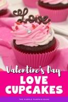 Valentine's Day Love Cupcakes