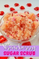 Strawberry Red Sugar Scrub