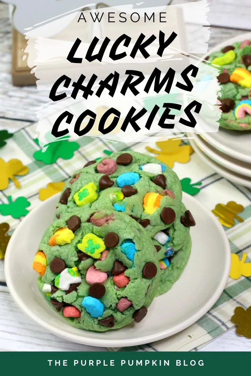 Awesome Lucky Charms Cookies