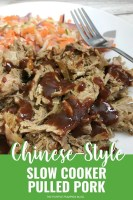 Chinese Style Slow Cooker Pulled Pork