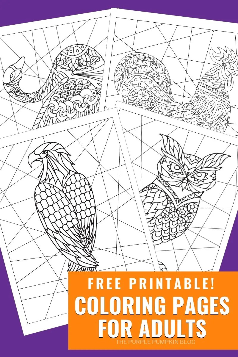 - Free Printable Adult Coloring Pages / Colouring Pages For Adults