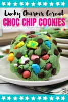 Lucky Charms Cereal Choc Chip Cookies