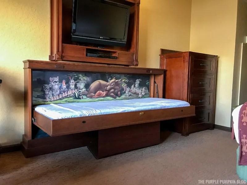 Room 3561 Boulder Ridge Villas - Pull Down Bed