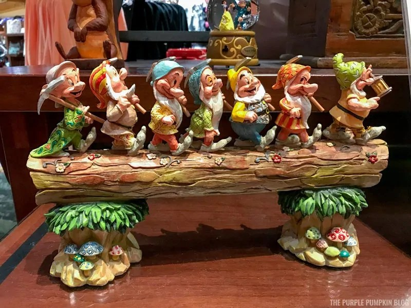 Seven Dwarfs Sculpture