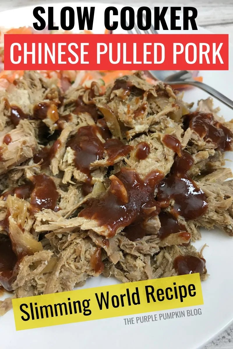 Slow Cooker Chinese Pulled Pork - Slimming World Recipe
