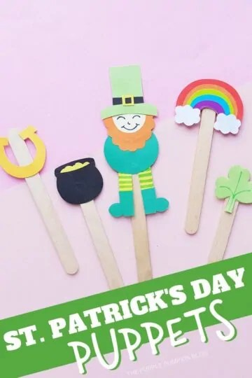 St. Patrick's Day Puppets