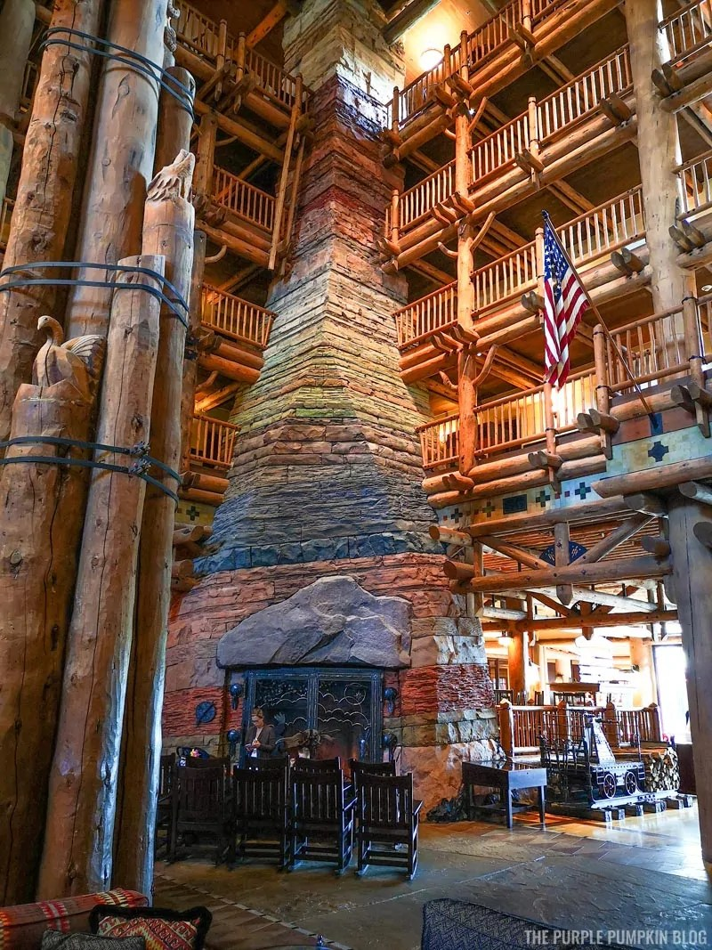 Wilderness Lodge Fireplace