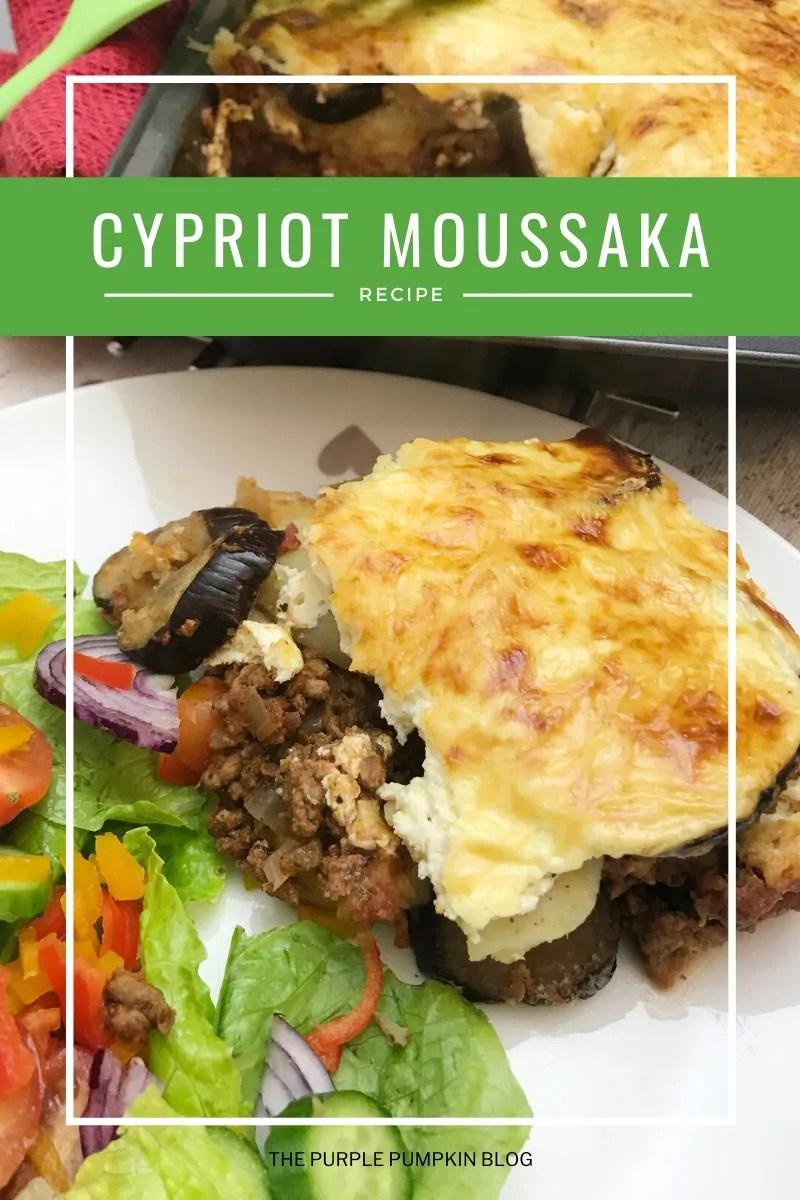 Cypriot Moussaka Recipe
