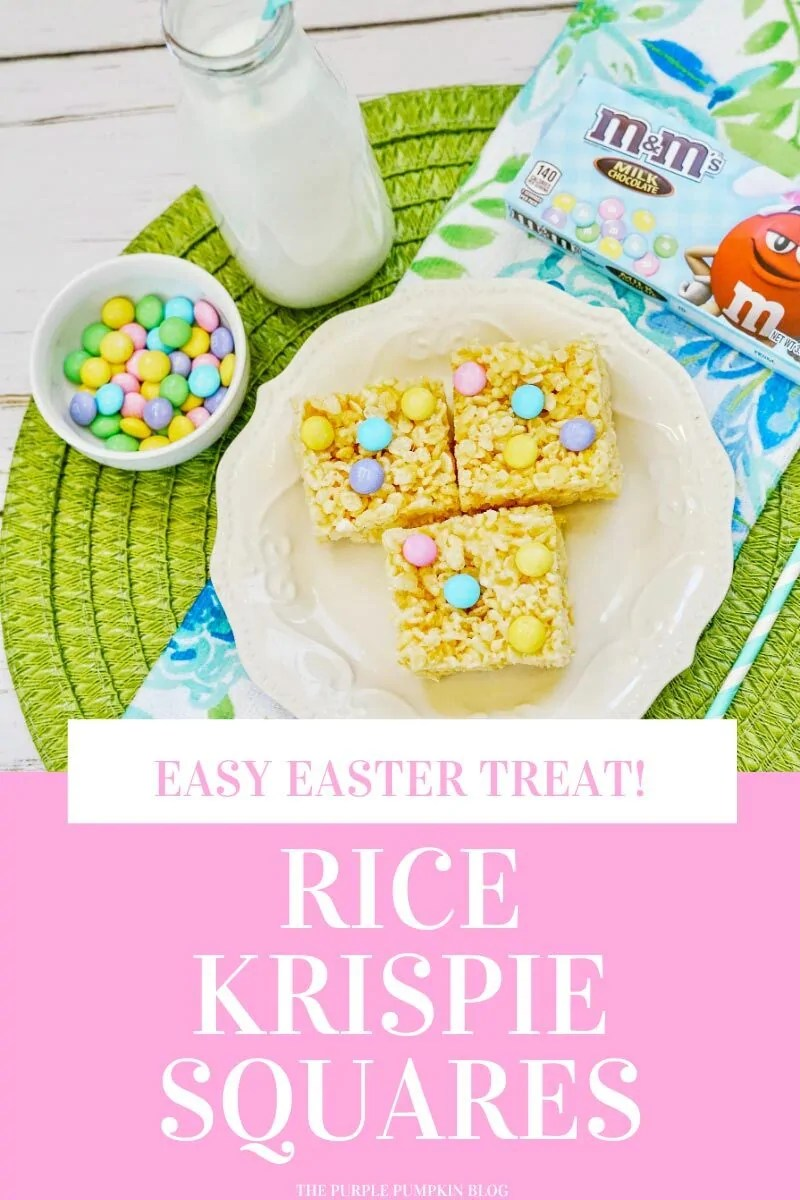 Easy Easter Treat Rice Krispie Squares