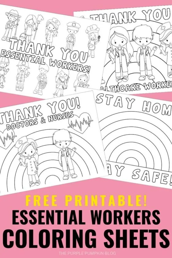 Free-Printable-Essentail-Workers-Coloring-Sheets