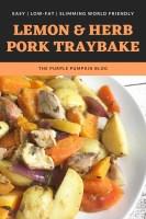 Lemon & Herb Pork Traybake