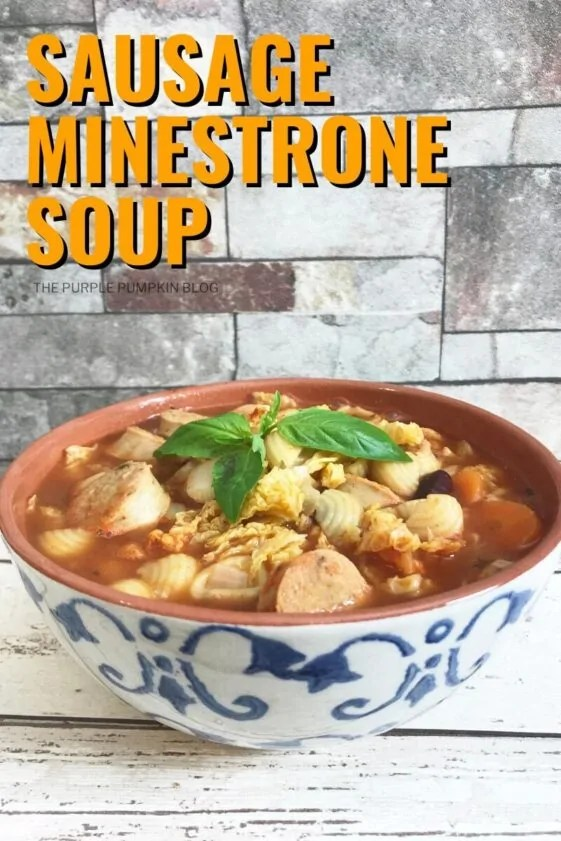 Sausage Minestrone Soup