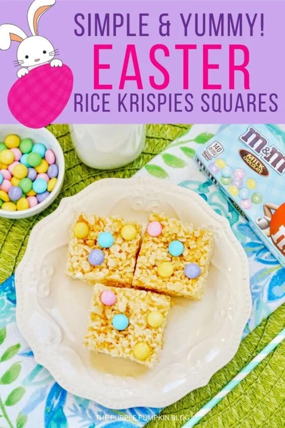 Simple Yummy Easter Rice Krispies Squares
