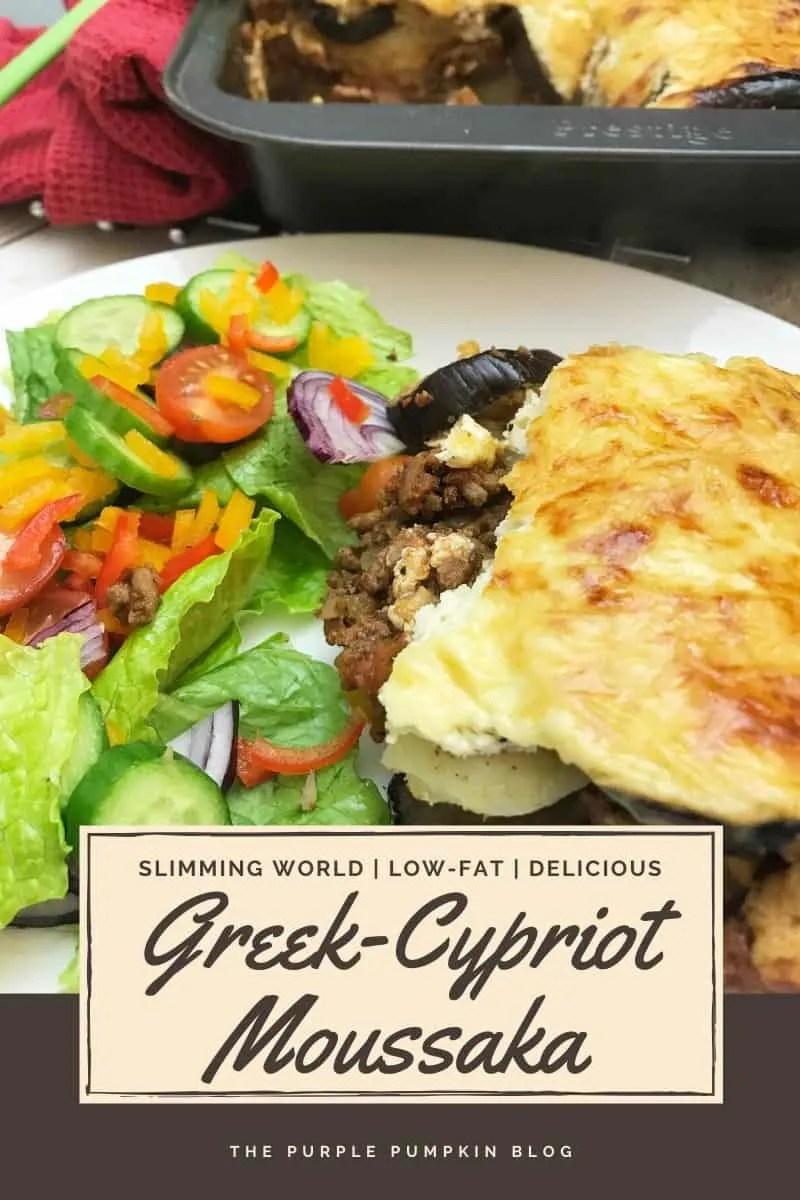 Slimming World Greek-Cypriot Moussaka