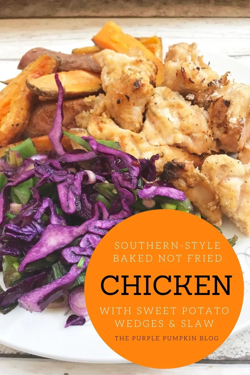 Southern Style Baked Not Fried Chicken