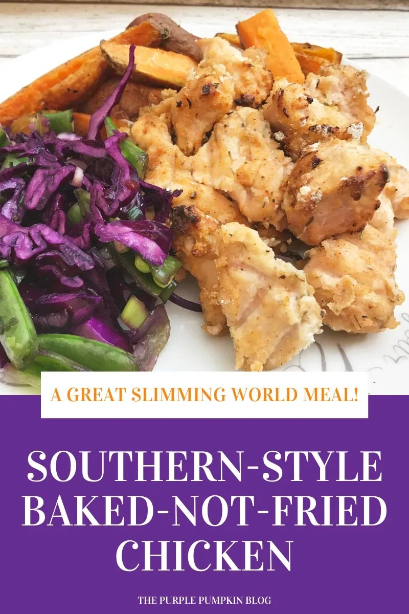 A Great Slimming World Meal! Southern-Style Baked-not-Fried Chicken