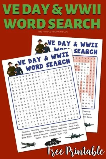 VE-Day-WWII-Word-Search-Free-Printable