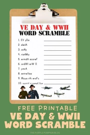 Free-Printable-VE-Day-WWII-Word-Scramble