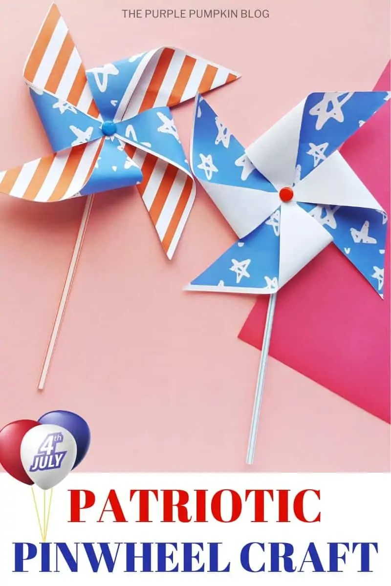 Patriotic Pinwheel Craft