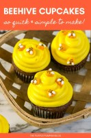 Beehive Cupcakes - So Quick & Simple To Make