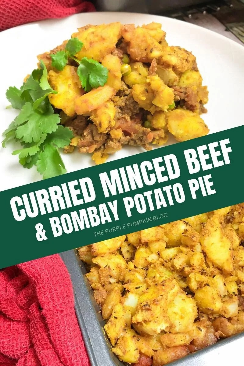 Curried Minced Beef & Bombay Potato Pie