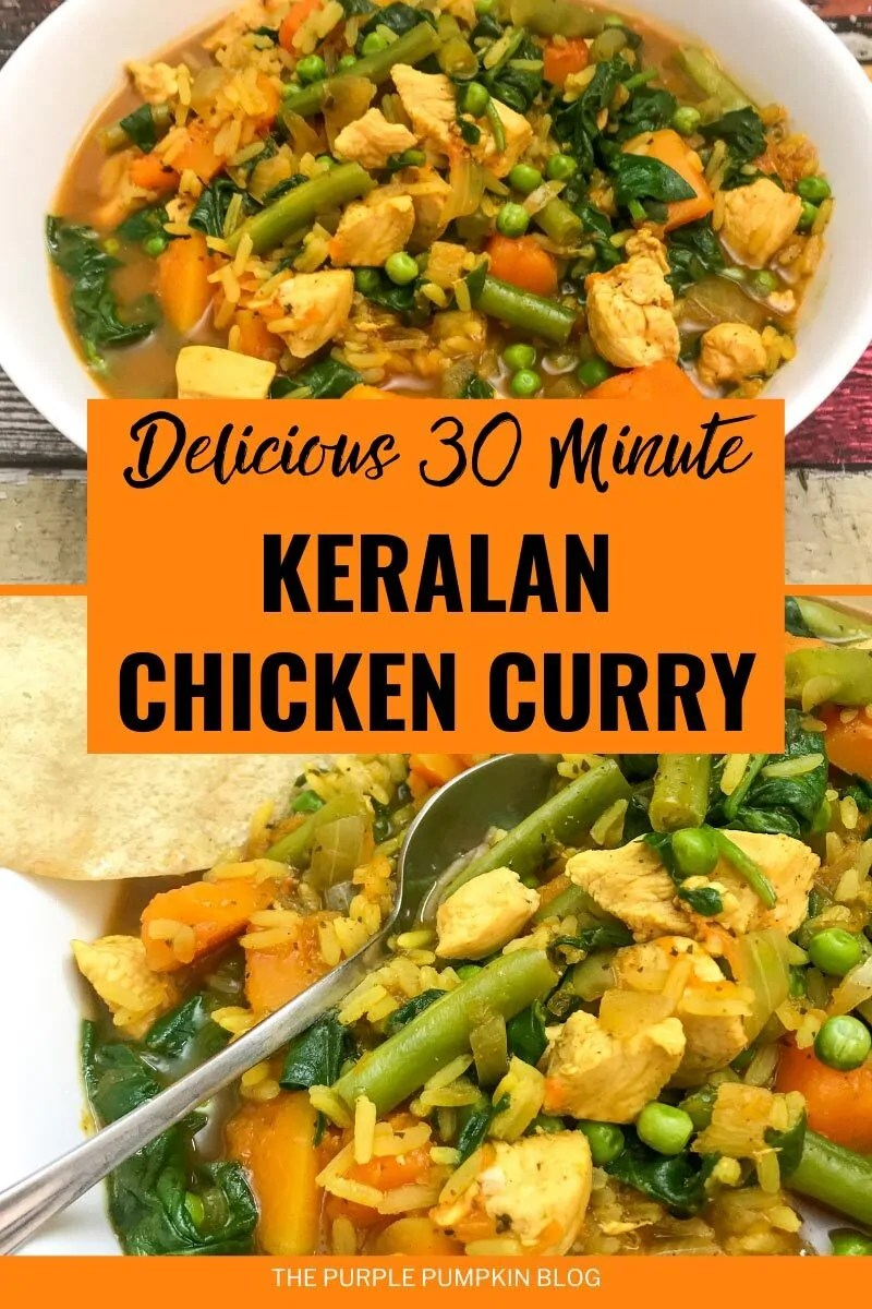 Delicious 30 Minute Keralan Chicken Curry