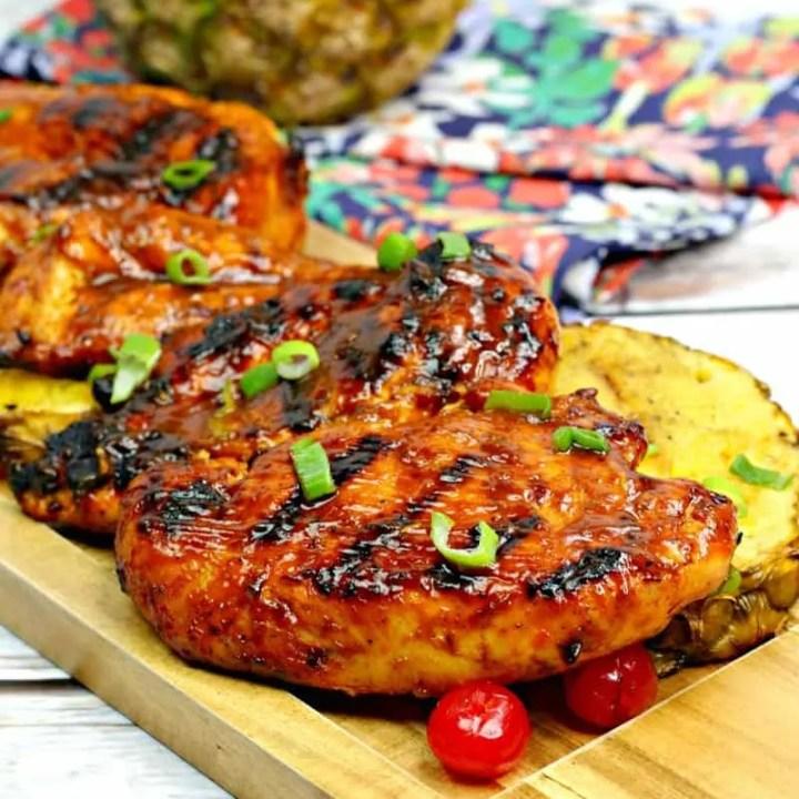 Hawaiian BBQ Luau Chicken