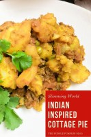 Indian Inspired Cottage Pie