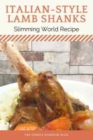 Italian Style Lamb Shanks Slimming World