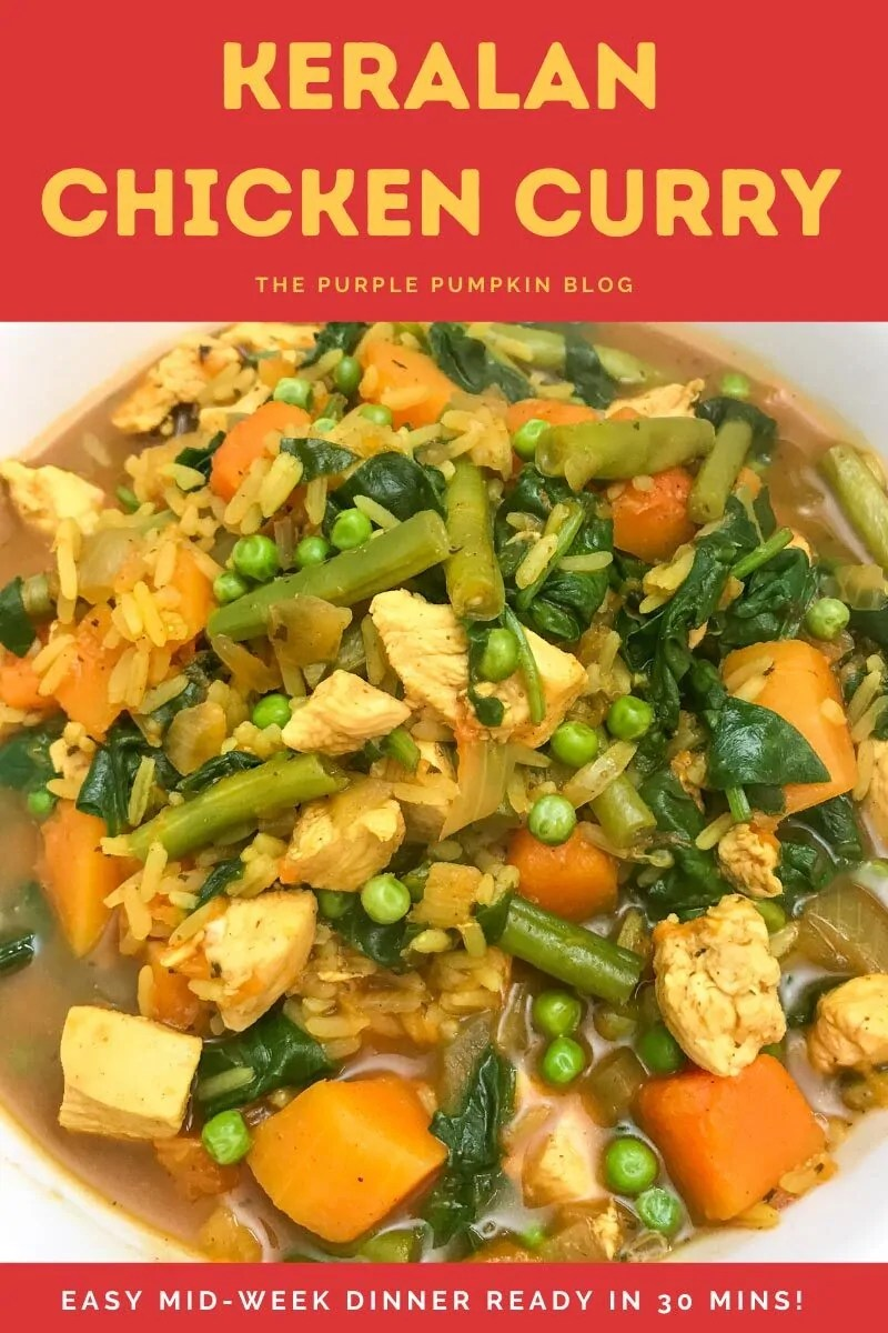 Keralan Chicken Curry - Easy Mid-Week Dinner Ready in 30 Mins