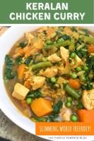 Keralan Chicken Curry - Slimming World Friendly