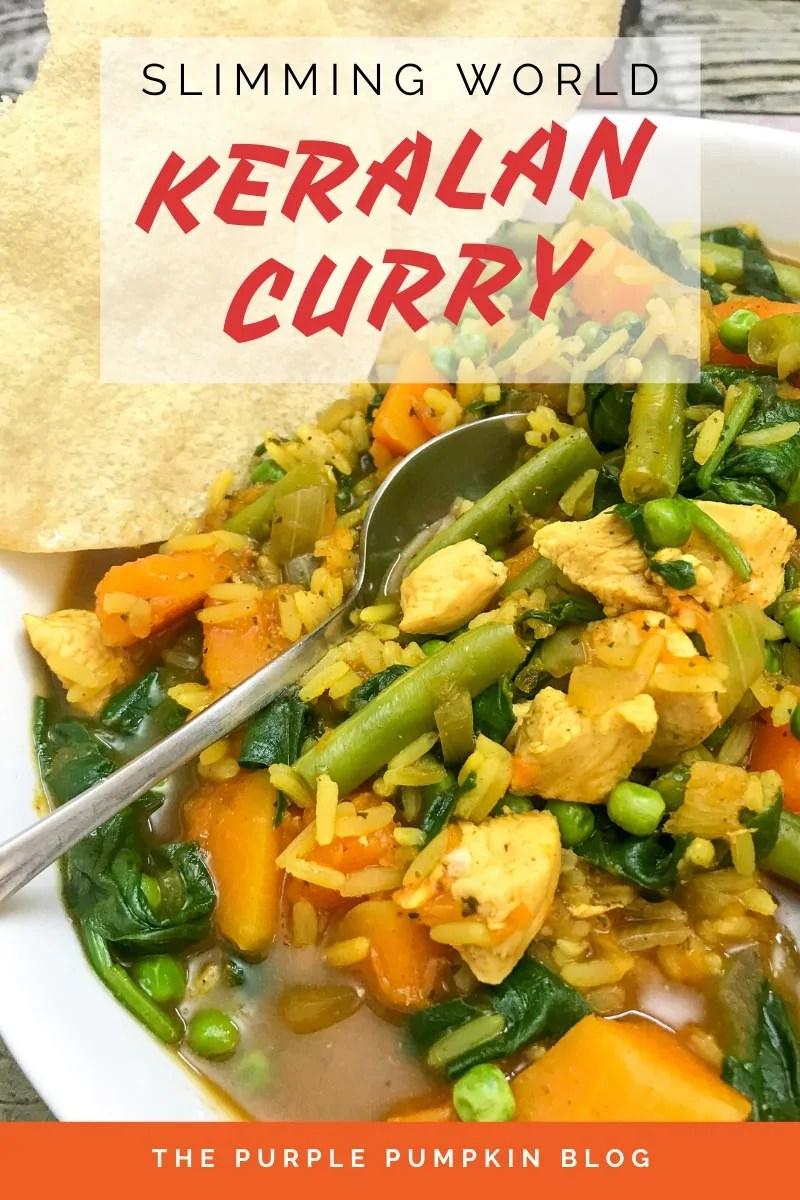 Slimming World Keralan Curry