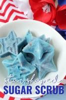 Star-Shaped Sugar Scrub