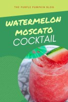 Watermelon Moscato Cocktail