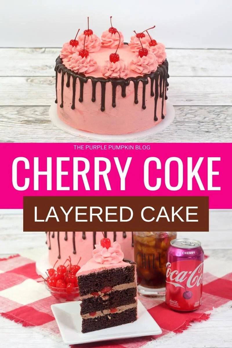 Cherry Coke Layered Cake