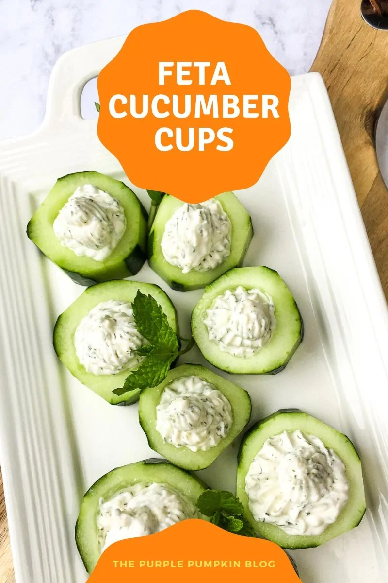 Feta Cucumber Cups
