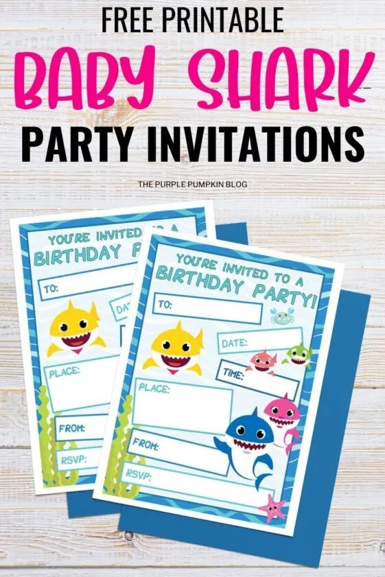 Free-Printable-Baby-Shark-Party-Invitations